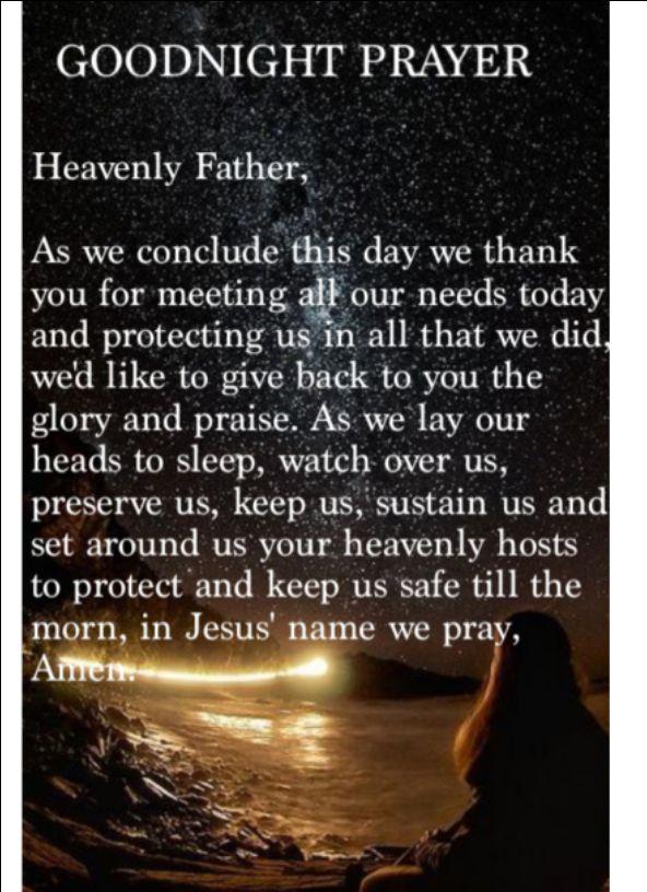 God bless good night - Click To Pray