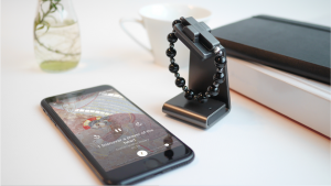 Electronic Rosary bracelet and phone with app